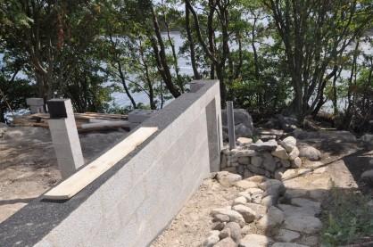 Kellerabgang aus Naturstein