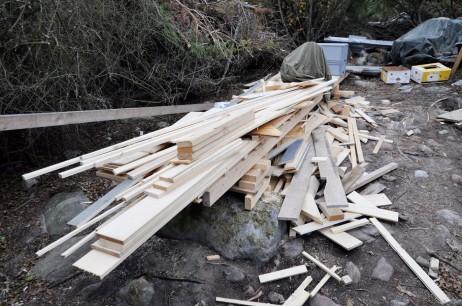 Holzverschnitt