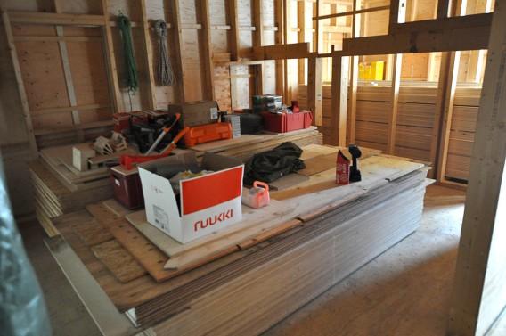 Materiallager im Haus 2