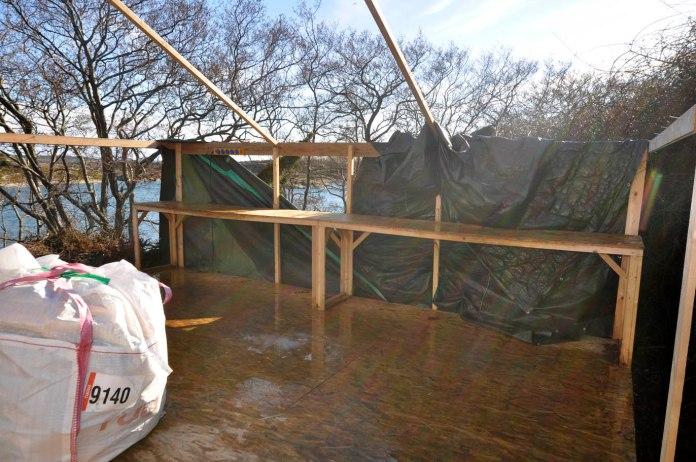 Werkstattdach beschaedigt